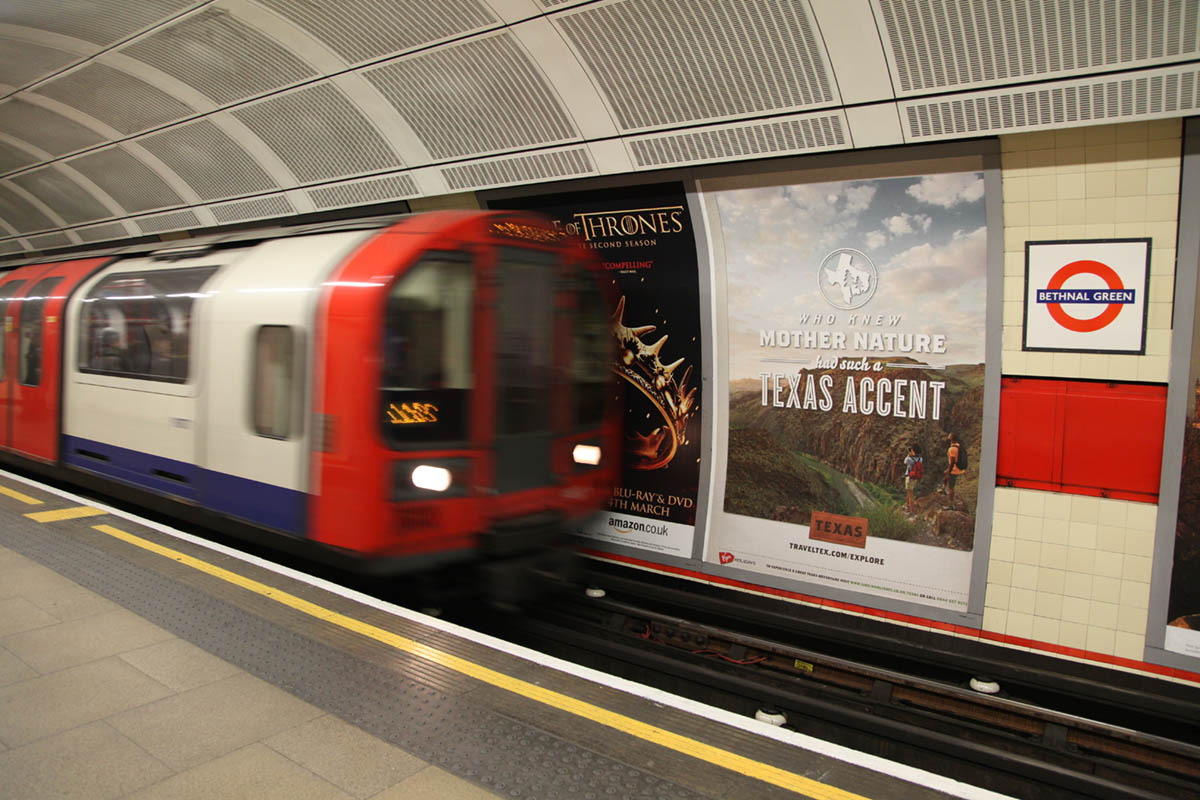 Texas Tourism Travel Marketing Case Study UK Out of Home