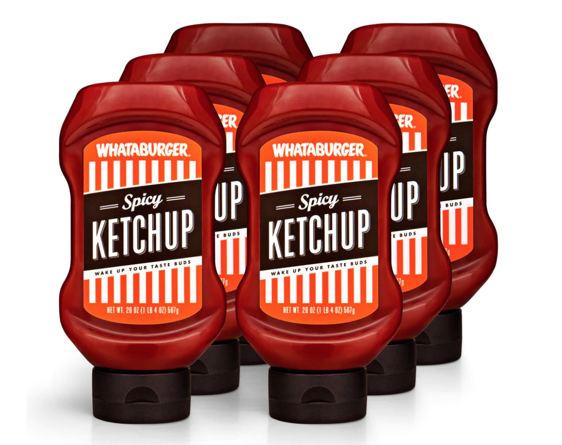 Whatabuger Spicy Ketchup Marketing