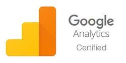 google analytics certification logo