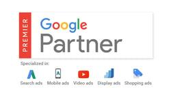 google premier partner logo with sublogos